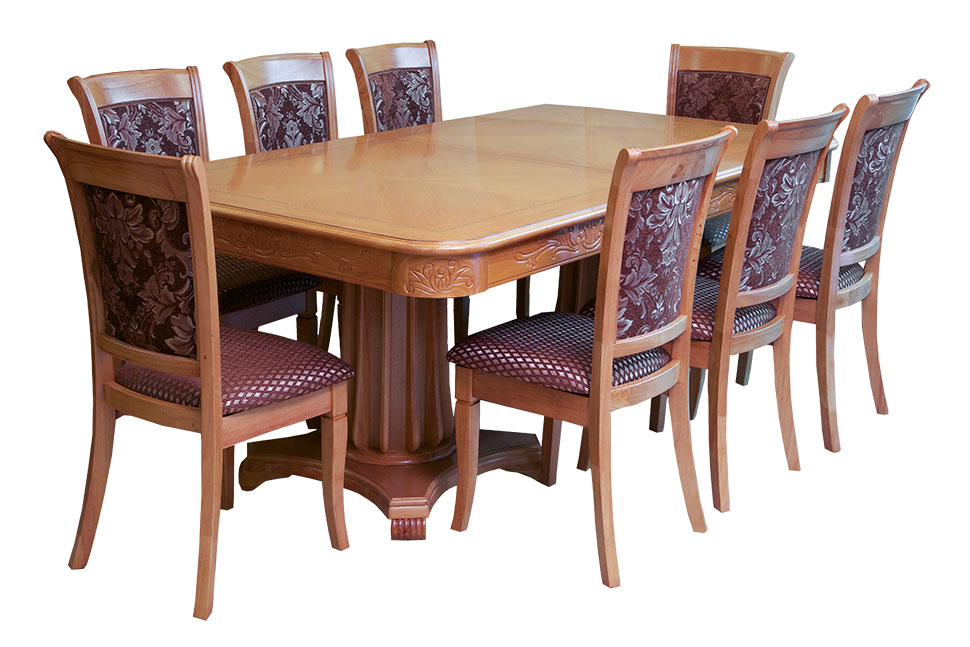 9 piece dining tables for Dining table and 8 chairs