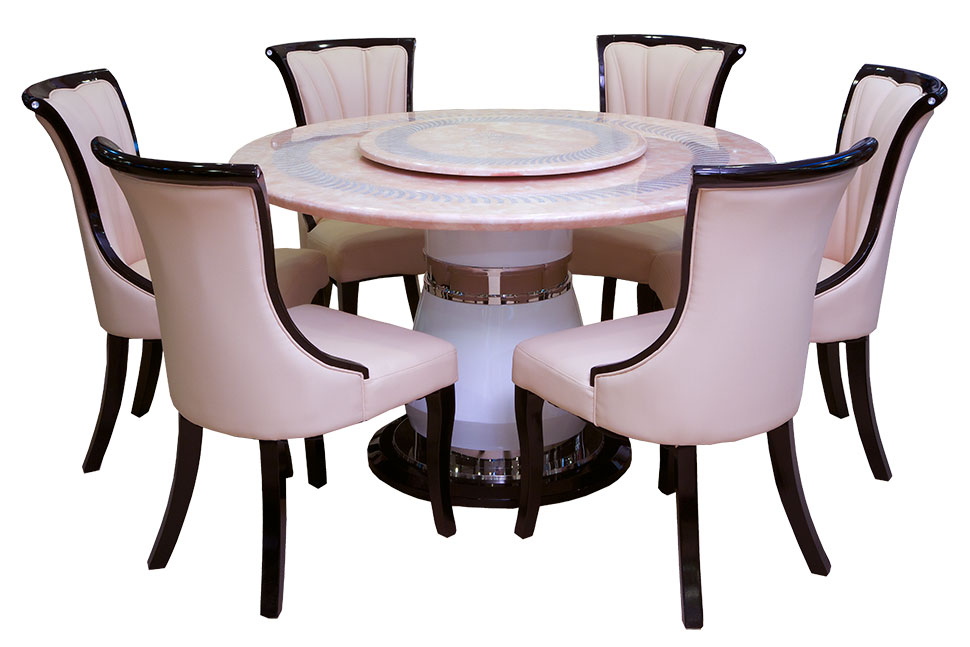 Round Table Spinning Center Designs